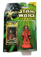 Star Wars Power of the Jedi Queen Amidala Theed Invasion Hasbro 2000 New