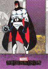 2012 MARVEL BEGINNINGS II 2 ERROR MISCUT CARD #212 FLAG SMASHER