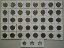 Malaysia 50 cent sen coins 1967 - 2017 full set 45 pcs
