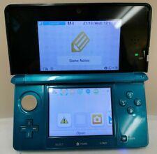Nintendo 3DS Aqua Blue Console Only Please See Description (D4)