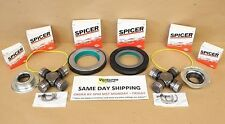 Seal Grease able U Joint Kit 05-15 Ford Super Duty F350 F250 Dana 60 Front