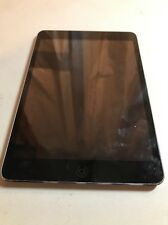 Apple iPad mini 1st Gen 16GB 7.9in Space Gray Works 100% C6 Bad Volume Button