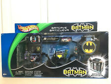 New Hot Wheels Batman Batcave Playset Action Set 2003