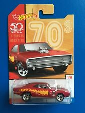 2018 Hot Wheels 50th Anniversary THROWBACK DECADES 1970 DODGE CHARGER 440 R/T!