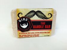 Gibs The Handle Bar Exfoliating Rich Lather Brick Of Man Soap - 6oz