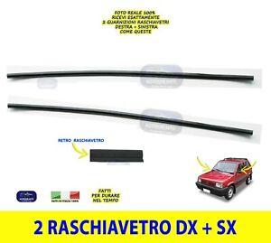 Guarnizione Raschiavetro Fiat Panda 141 e 141A Guarnizioni Finestrini Sportello