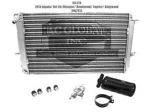 70 1970 Chevy Impala Bel Air Caprice Biscayne AC Condenser Kit OE 3967935 AC1570