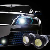 10x 23mm Eagle Eye Weiß Lampe Auto Motor LED Helle Tagfahrlicht DRL Schwanz 12V