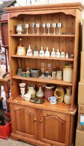 Welsh Pine Dresser, solid pine bookshelf