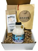 Vermont Breakfast Gift Box Filled with Maple Treats - Maple Syrup Gift Box