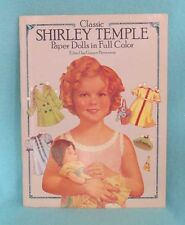 Classic Shirley Temple Paper Dolls by Grayce Piemontesi