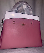 New Coach Mini Lillie Carryall Rose Colored BNWT