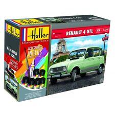 Heller 1/24 Renault 4l Ensemble Cadeau #56759