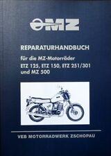 Reparaturhandbuch MZ ETZ 125 & 150 & 251 & 301 & 500 Reperaturbuch in blau IFA