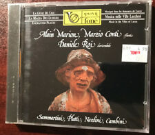 Flute Sonata Battista Platti Nardini Cambini, Alain Marion CD Fone NEW SEALED