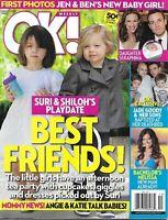 OK Tabloid Magazine Hollywood Kids Jennifer Garner Ben Affleck Jade Goody 2009