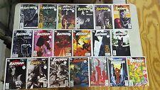 BATMAN 19 ISSUE COMIC RUN 631-682 DC RIP MORRISON JOKER HARLEY