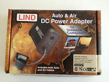 LIND Auto and Air DC Power Adapter - Apple Powerbook 1400, 2400, G3 EUC