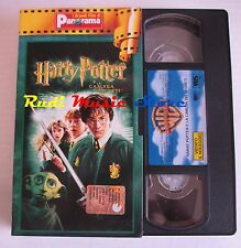 film VHS HARRY POTTER E LA CAMERA DEI SEGRETI cartonata PANORAMA 2002 ( F15**)