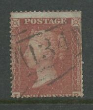 PENNY RED SMALL CROWN perf 16 WMK INVERTED USED BRISTOL