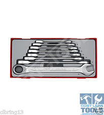 Teng Tools 8 pce Metric Ratchet Combination Spanner Set TT6508RS