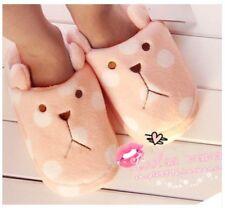 New Kawaii Cute Plush Slipper Indoor Shoes-03