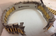cavadini-massive edelstahl-in BICOLOR CORREA RELOJ 20mm cierre de mariposa