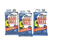 2018 Topps Heritage Baseball Value Packs ( 3 Pack Lot )