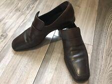 GUCCI leather loafers shoes Men's Sz 42 E
