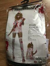 leg Avenue bloody nurse Betty three-piece costume women's small/medium Halloween