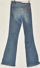 VINTAGE Da Donna Vera ORIGINALE WRANGLER Jeans W 29 L 34 Bootcut