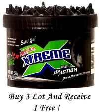 Xtreme ReAction Black Styling Hair Gel Wetline Ultimate Hold Solid Gel 8.8 oz