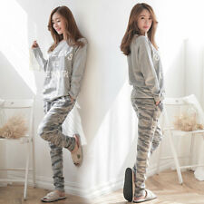 2018 Women Ladies Cotton Long Sleeve Pyjamas Set Nightwear Sleepwear Lounge Wear