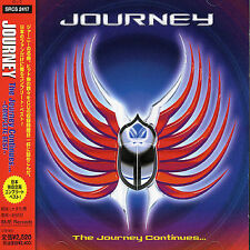 The Journey Continues by Journey (Rock) (CD, Jan-2001, Sony) Japan
