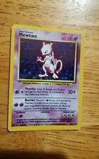 Mewtwo 10/102 EXC/Near Mint Holo Vintage Pokémon Card