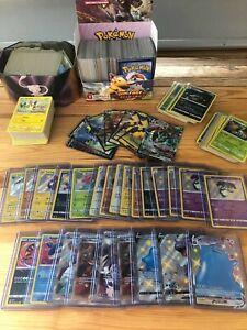 Lot de 101 cartes Pokémon (+DESTINEES RADIEUSES) + 10 Rares/Brillantes/Shiny