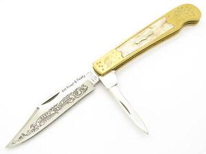 Vtg Parker Tak Fukuta Seki Japan Jones 1851 Folding Hunter Pocket Saddle Knife