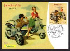 Italy 2017: lambretta-Postcard Official Poste Italiane