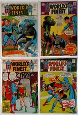 World's Finest (1st) 182, 183, 184, 185 (DC 1969) Good Plus to Very Good Plus