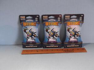 Skylanders Battlecast 8 Card Booster Pack Pop Fizz Lot of 3 Packs