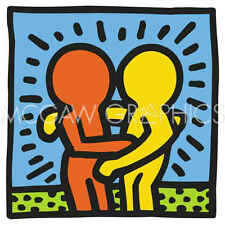 Keith Haring KH05 Abstract Contemporary Pop Art Figure Print Poster 11x14