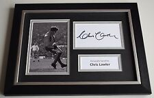 Chris Lawler Signed A4 FRAMED photo Autograph display Liverpool Football COA