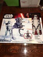 STAR WARS THE FORCE AWAKENS 12-INCH SCALE ASSAULT WALKER WITH STORMTROOPER