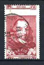 "FRANCE STAMP TIMBRE 335 "" CORNEILLE LE CID PIQUAGE A CHEVAL"" OBLITERE TB  R044"
