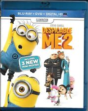 Despicable Me 2 (2-Disc Blu Ray + DVD Set) NO DIGITAL