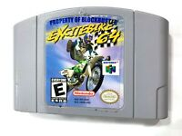 **Excitebike Nintendo 64 N64 Game Tested + Working & Authentic! Excite Bike**