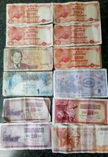 More details for job lot of vintage foreign bank notes 12 in total