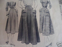 vintage McCall 1940s skirt sewing pattern No 9494 cut but complete