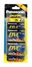 PANASONIC DVC LINEARPLUS LP90 / SP60 - Digital Video Cassette - 5 PACK - NEW
