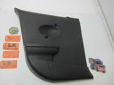 03-07 SATURN ION QUAD COUPE 2DR DRIVER L LH LR DOOR PANEL BACK REAR COVER CAR OE